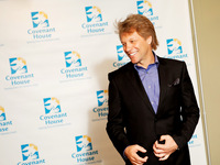 Jon Bon Jovi at Covenant House's A Night of Broadway Stars Event
