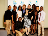 Jon Bon Jovi Backstage with the Covenant House Youth Performing that Evening