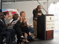 Walter Speaking at the JBJ Soul Homes Groundbreaking Ceremony in Philadelphia, PA