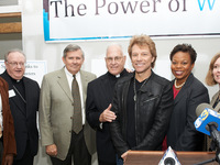 Jon Bon Jovi Visits Future Home of Joseph's House in Camden, NJ