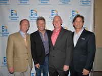 (from L to R): Leo Carlin, Jon Bon Jovi, Kevin Ryan - President, Covenant House and Craig Spencer