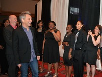 Jon Bon Jovi Meeting the Covenant House youth performing that night