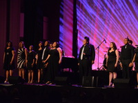 Covenant House Youth Performing During Night of Broadway Stars