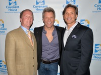 Leo Carlin, Jon Bon Jovi and Craig Spencer