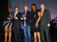 Craig Spencer & Jon Bon Jovi Receiving Awards from Covenant House PA Youth