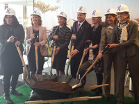 MONMOUTH COUNTY'S 180 TURNING LIVES AROUND, INC.  BREAKS GROUND ON STATE'S LARGEST SAFE HOUSE FOR VICTIMS OF DOMESTIC VIOLENCE