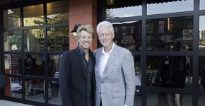 JBJ Soul Kitchen Welcomes President Clinton