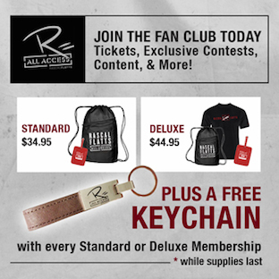 Fan Club FREE Keychain Promotion