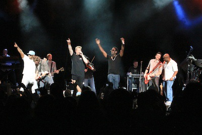 "RASCAL FLATTS PERFORM AT ARNOLD PALMER'S ""MUSIC FOR CHAMPIONS"" BENEFIT FOR TJ MARTELL"