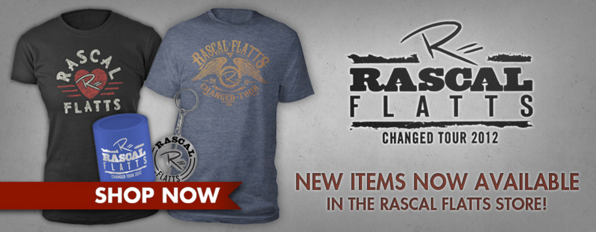 "NEW ""CHANGED TOUR 2012"" MERCHANDISE AVAILABLE NOW!"