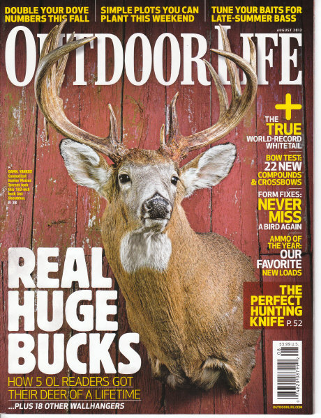 GARY FEATURED IN AUGUST ISSUE OF OUTDOOR LIFE MAGAZINE