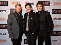 Rascal Flatts at the CHANGED Theater Premier in New York